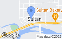 Map of Sultan, WA