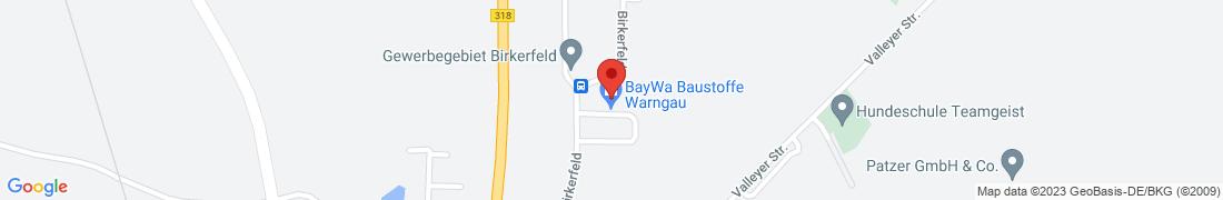 BayWa Baustoffe Warngau/Lochham Anfahrt