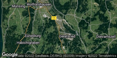 Google Map of Geretsried