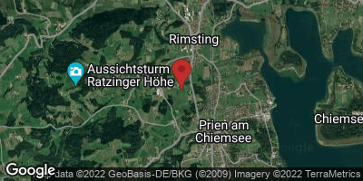 Google Map of Prien am Chiemsee