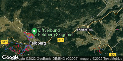 Google Map of Feldberg