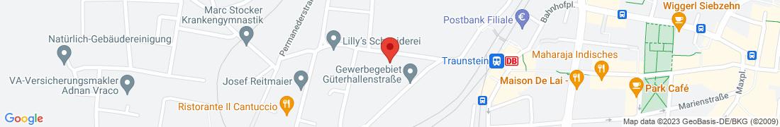 BayWa Tankstelle Traunstein Anfahrt