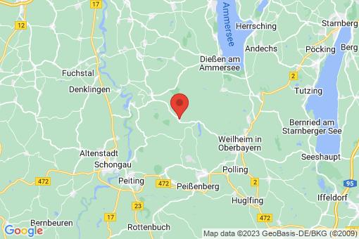 Karte Wessobrunn