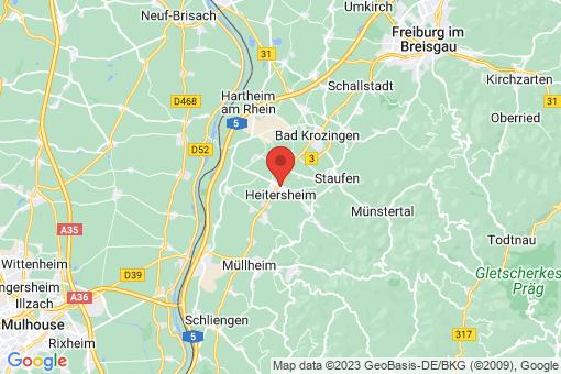 Karte Heitersheim