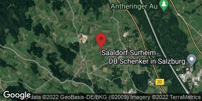 Google Map of Saaldorf-Surheim