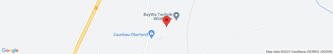 BayWa Technik Wilzhofen (Fachmarkt) Anfahrt