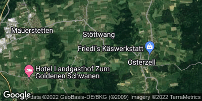 Google Map of Stöttwang