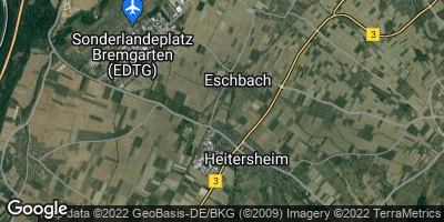 Google Map of Eschbach