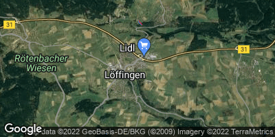 Google Map of Löffingen