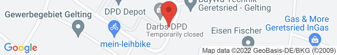 BayWa Technik Gelting-Geretsried Anfahrt