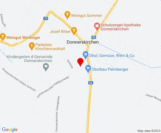 Google Map of Hofsatz 19, 7082 Donnerskirchen