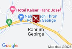 Alpengasthof Kalte Kuchl - Karte