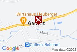 Gasthof Pfandlwirt - Karte