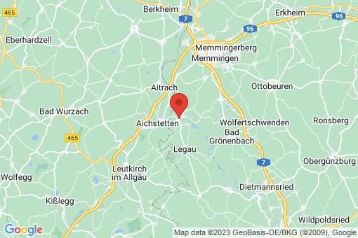 Karte Lautrach