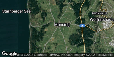 Google Map of Münsing