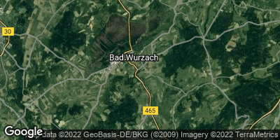 Google Map of Bad Wurzach