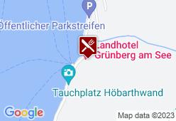 Landhotel Grünberg am See - Karte