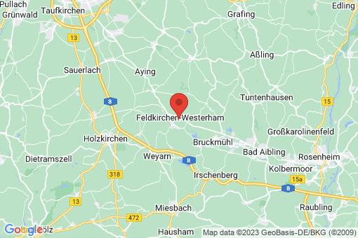 Karte Feldkirchen-Westerham