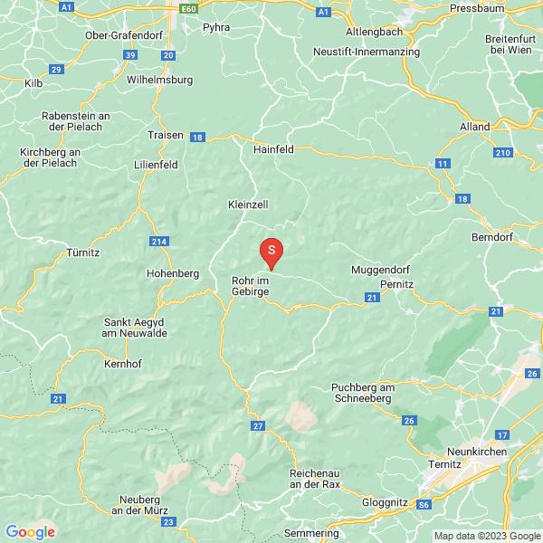Furtnerlifte Rohr im Gebirge