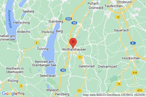 Karte Wolfratshausen
