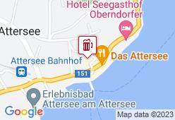 Seehof Attersee - Karte