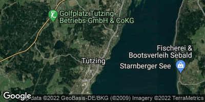 Google Map of Tutzing