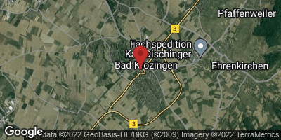 Google Map of Bad Krozingen
