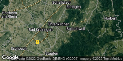 Google Map of Ehrenkirchen