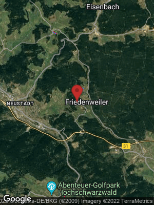 Google Map of Friedenweiler