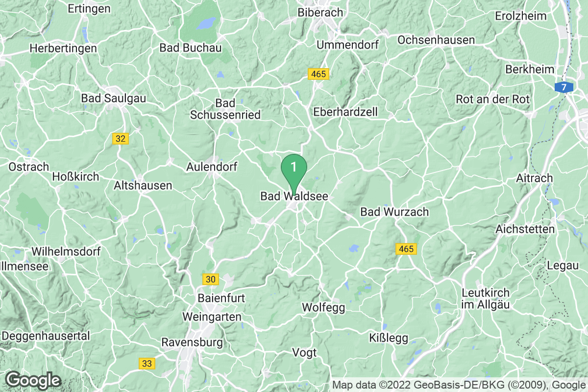Google Map of Bad Waldsee
