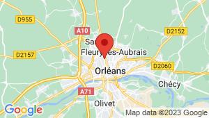 Carte de localisation du centre de contrôle technique FLEURY LES AUBRAIS