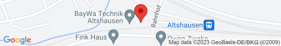 BayWa Technik Altshausen Anfahrt