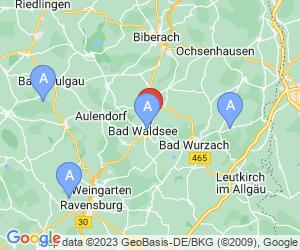 Karte für Fürstlicher Golfclub Waldsee e.V.