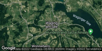 Google Map of Waging am See