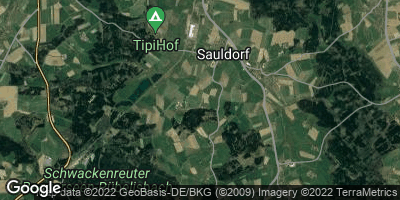 Google Map of Sauldorf