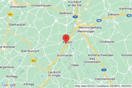 Karte Aitrach