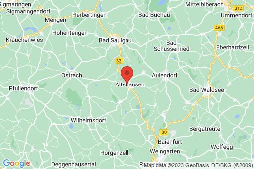 Karte Altshausen
