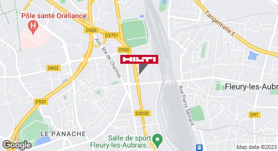 Espace Hilti - La Plateforme du Bâtiment - Fleury les Aubrais / Orléans