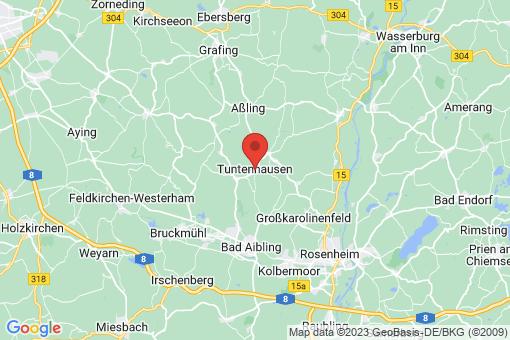 Karte Tuntenhausen