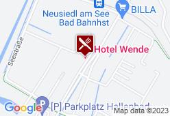 Restaurant Sonnenstube Hotel Wende - Karte