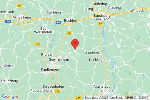 Karte Oberostendorf