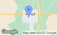 Map of Athol, ID