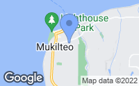 Map of Mukilteo, WA