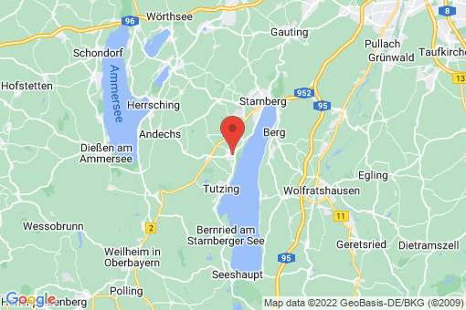 Karte Feldafing