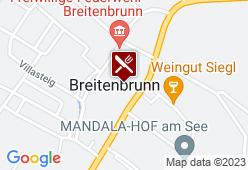 Seerestaurant Breitenbrunn - Karte