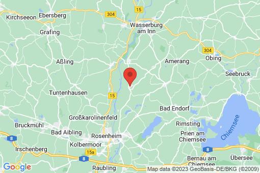 Karte Vogtareuth