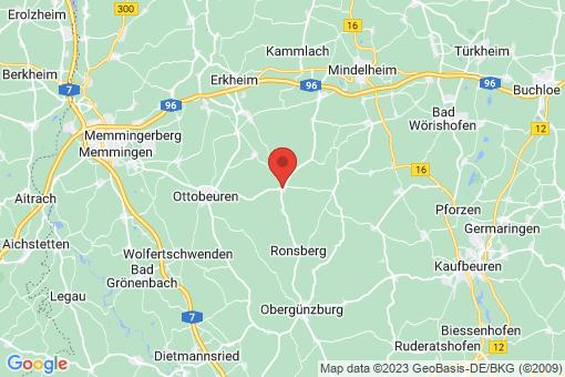 Karte Markt Rettenbach