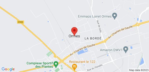 Location locaux d'activités de 145m² avec bureau - ORMES 45
