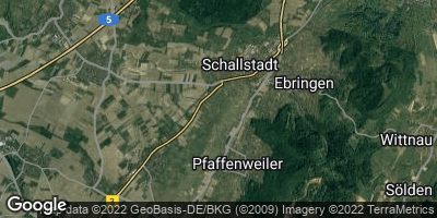 Google Map of Schallstadt
