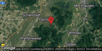 Google Map of Ebringen